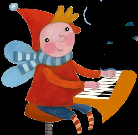 kis zongorás