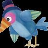 madár balra